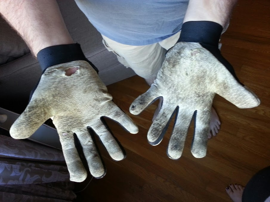 Menards Carries An Entire Line Of Rugged Wear Gloves. The Style We Bought  Were Mechanic Style Gloves. We Have Used This Type Of Gloves Before, ...